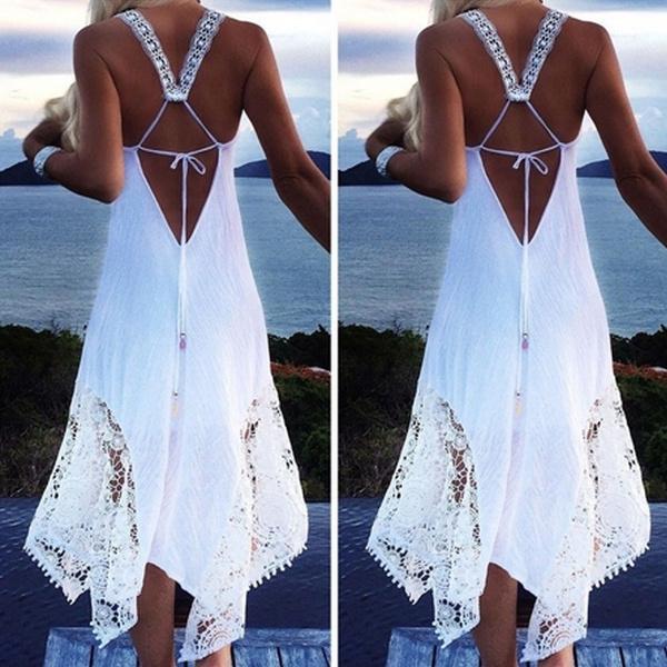 halter dress, long dress, backless dress, Dress