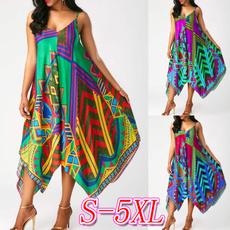 summer dress, long dress, plus size dress, Dress
