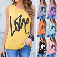 sleevelesstopsforwomen, Summer, Fashion, Love