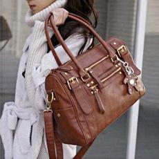 fashionwomenbag, Totes, messengerhobobag, leather