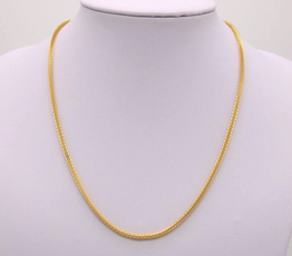 canmatchpendantchain, simplenecklace, yellow gold, gold