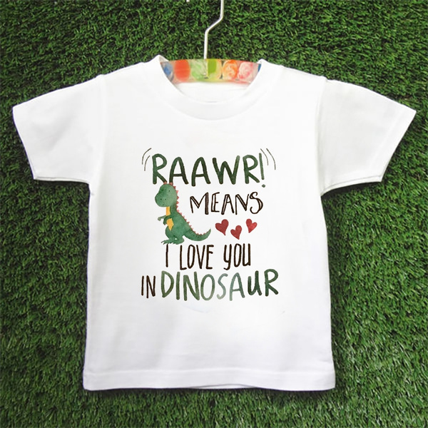 Baby, dinosaurshirt, Love, Shirt