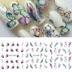 butterfly, nailartdiysticker, Decor, Flowers
