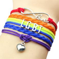 knittedbracelet, Heart, gayjewelry, Love