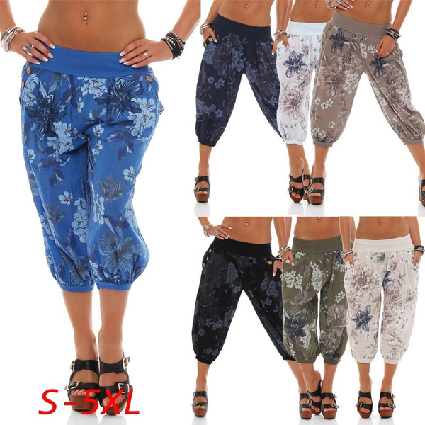 Women Pants, Summer, harem, Fashion