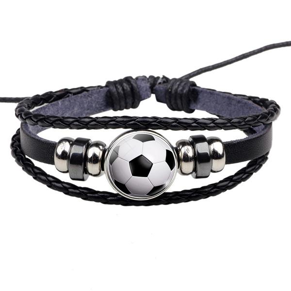 Soccer, Fashion, rope bracelet, Jewelry