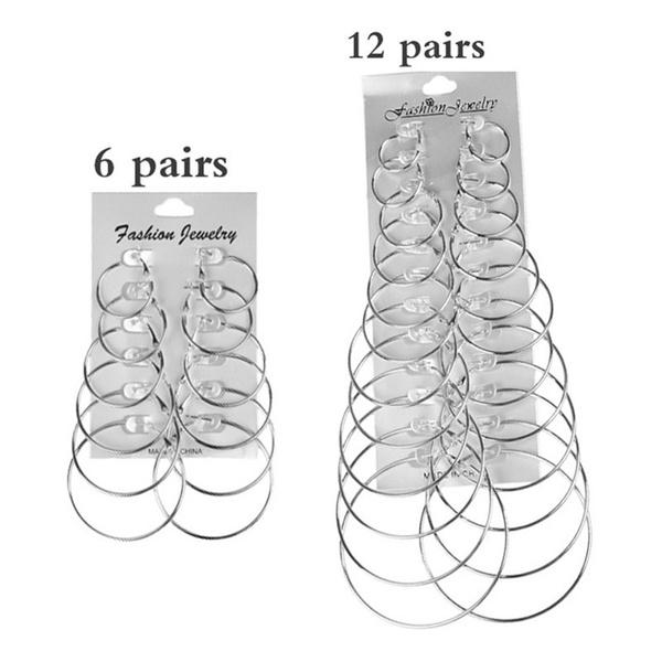 Sterling, Hoop Earring, Fashion, women earrings