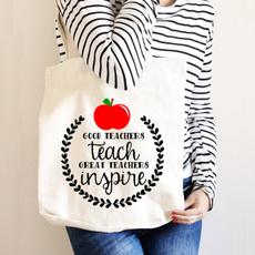 teacherbag, Canvas, Gifts, Totes