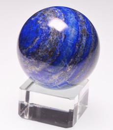 Blues, quartz, crystalball, lapislazuli