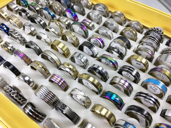 Steel, bandring, Stainless Steel, Women Ring