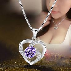 Christmas, Gifts, Women jewelry, heart pendant