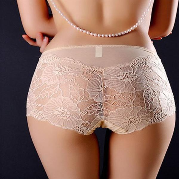 Underwear, Plus Size, Lace, Panties