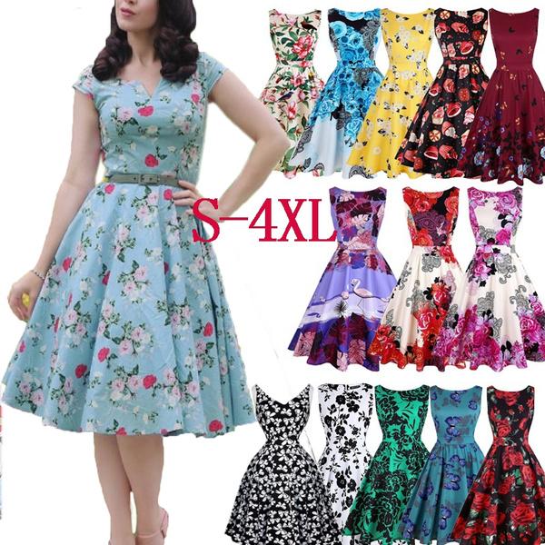 Summer, sleeveless, Flowers, Floral print