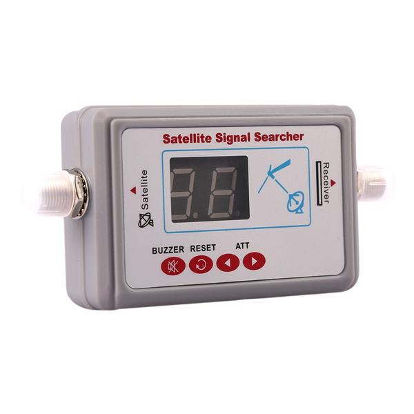 signaltester, Satellite, satellitereceiver, TV