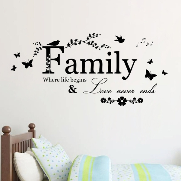 Love, Home Decor, Family, Stickers