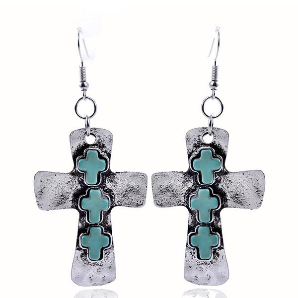 christianjewelry, crossearring, Fashion, Christian
