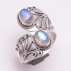 openningring, adjustablering, Fashion, 925 sterling silver