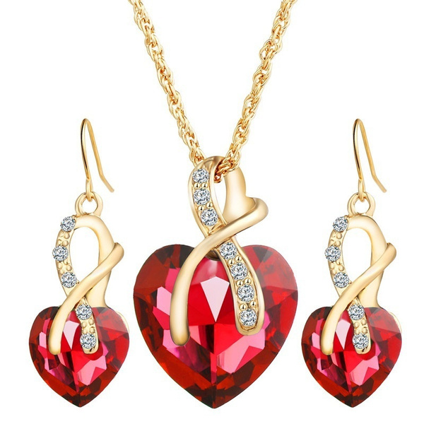 Jewelry Set, Fashion, Jewelry, Heart