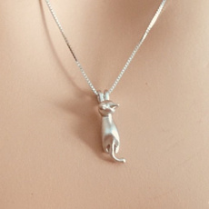 Jewelry, Animal, kittypendant, catnecklace