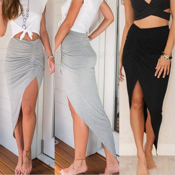long skirt, summer skirt, high waist, Dresses