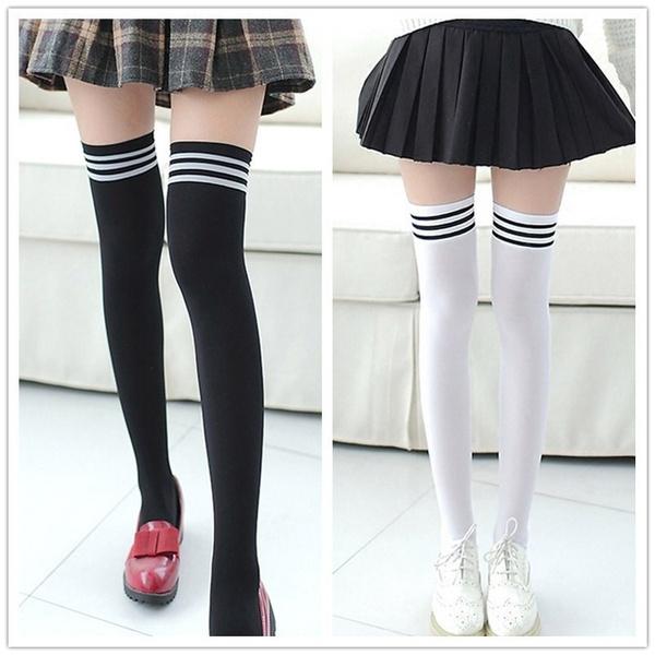 Leggings, Fashion, overkneesock, Socks