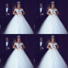 gowns, ballgownweddingdres, Lace, princessweddingdres