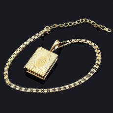 goldplated, Box, Chain Necklace, Jewelry