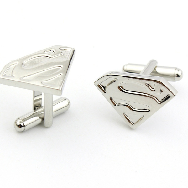 Men/'s Cuff Links Superman