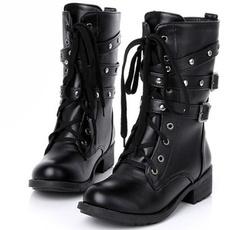 Goth, Combat, rivetboot, Ladies