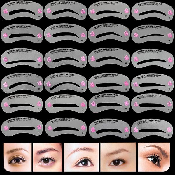 eye, reusableeyebrowstencil, Beauty, Makeup