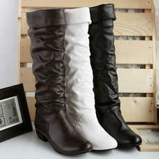 Knee High Boots, midcalfboot, Leather Boots, Invierno