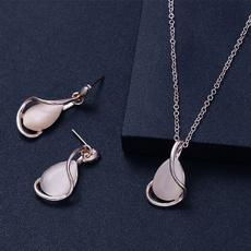 crossearring, opalearring, Jewelry, Elegant