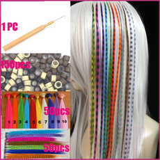 multicolourhairextension, Hairpieces, hairextensionclip, colorfulhairpiece
