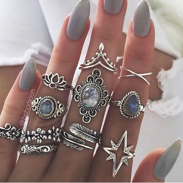 crystal ring, Star, Jewelry, crownring