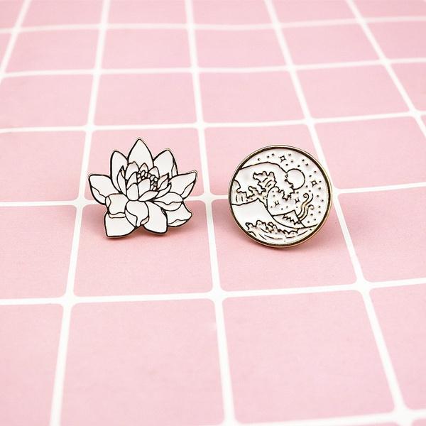 Plants, Fashion, Jewelry, Pins