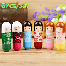 japanesekimonodoll, kimonodoll, lipbalmset, Beauty