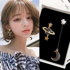 Ear Drops, Fashion, Star, Jewelry