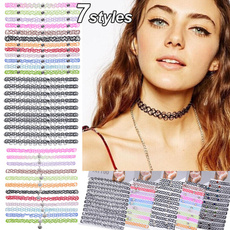 Cheap Choker Necklaces, womensfashionampaccessorie, blackchoker, Jewelry