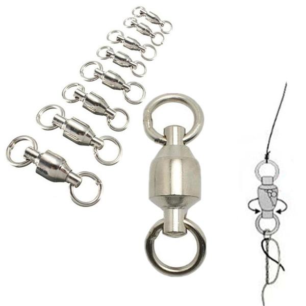 Heavy, Brass, rollingswivel, fishingconnector