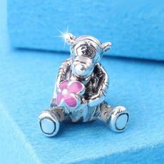 Sterling, 925sterlingsilvercharmsbead, Joyería de pavo reales, Pandora Beads