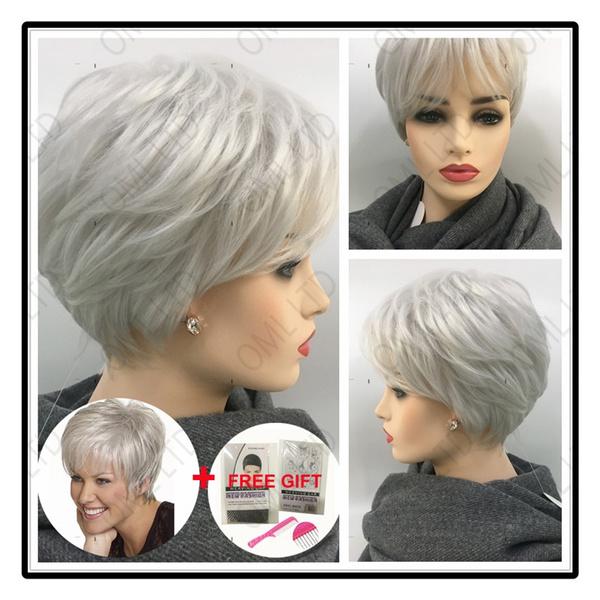 wig, hairstyle, Fashion, greywig