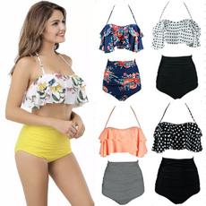 Plus Size, Halter, Womens swimwear, women swimwear