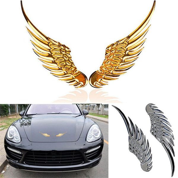 emblembadgedecal, 1pair, Angel, 3dstereo