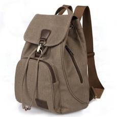 travel backpack, School, Fashion, retrocanvasbackpack