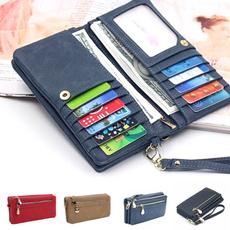 wallets for women, zipperbag, Сумки, leather