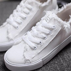 Canvas, Womens Shoes, Simple Style, Youth