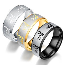 Steel, vintage ring, Jewelry, titanium