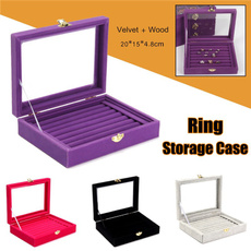 Box, case, velvet, Jewelry