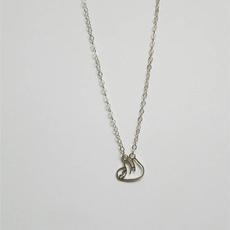 babyslothnecklace, Necklace, slothnecklace, Jewelry