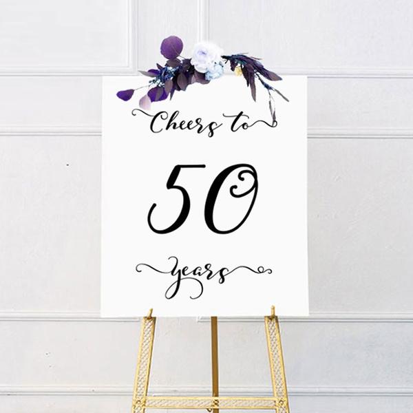 50th Birthday Party Birthday Party Activity Sheet 50th Birthday Party Game Cheers to 50 Years Party Game 50th Birthday Party Printable